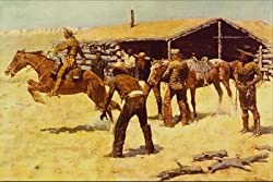 12X16 inch Frederic Remington Canvas Art Coming&Going of the Pony