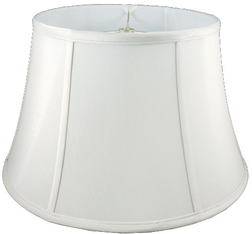 Eggshell American Pride 11x 12x 8.5 Round Soft Shantung Tailored Lampshade