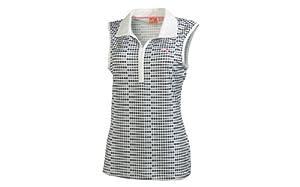 Puma Golf NA Ladies Dot Sleeveless Polo Shirt by PUMA