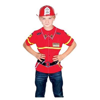 BABY-WALZ T-Shirt Feuerwehr Kinderkostüm Karneval