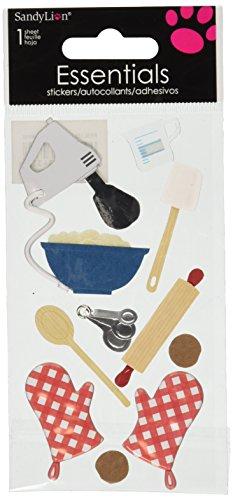 Sandylion Baking Essentials Sticker, Large (Kids Cooking Stickers compare prices)