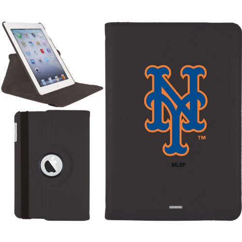New York Mets - NY design on a Black iPad Mini Swivel Stand Case by Coveroo at Amazon.com