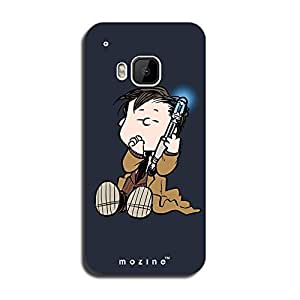 Mozine Smoking Kid printed mobile back cover for HTC one m9