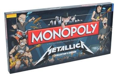 Metallica Monopoly Brettspiel Standard