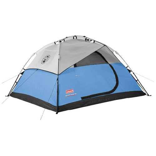 Galleon Coleman 4 Person Waterproof Instant Dome Camping