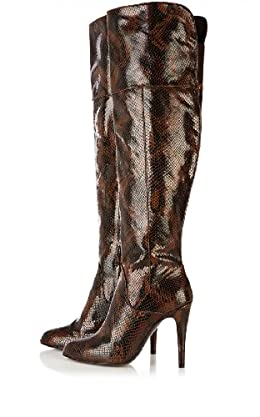 Over The Knee Snake Boot