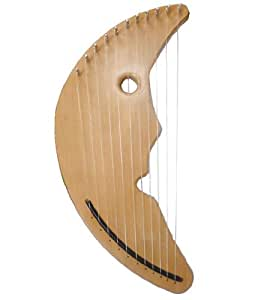 Amazon.com: Zither Heaven Man In The Moon Harp: Musical Instruments