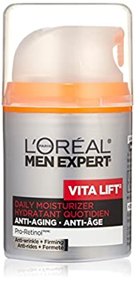 L'Oreal Paris Men's Expert Vita Lift Anti-Wrinkle and Firming Moisturizer, 1.6-Fluid Ounce