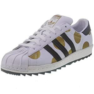Adidas Js Jeremy Scott Superstar 80s Ripple Men's Shoe, G61527, White/black/gold at Sears.com