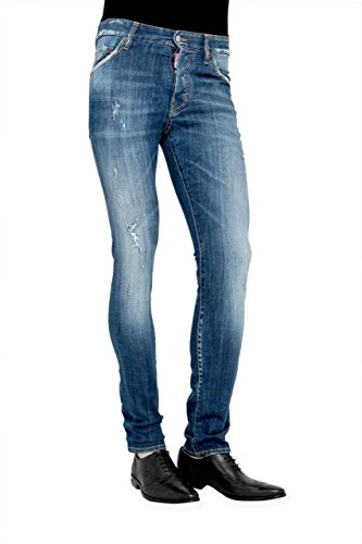 Dsquared² Herren Jeans Slim Leg COOL GUY, Farbe: Blau, Größe: 44 thumbnail