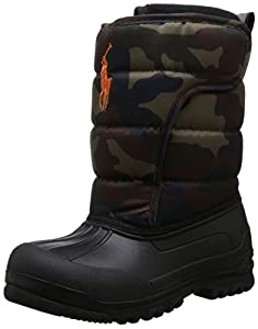 Polo Ralph Lauren Kids Hamilten EZ Winter Boot (Toddler/Little Kid/Big Kid),Camouflage,10 M US Toddler