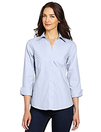 Foxcroft Women 39 S Taylor Essential Blouse At Amazon Women S