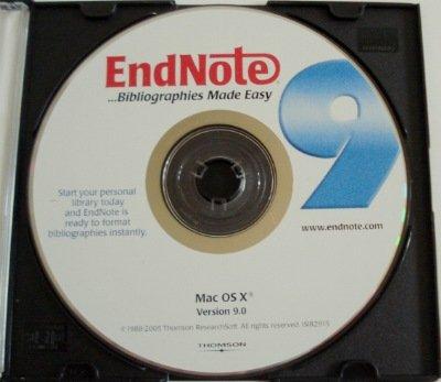 Endnote 9 (Mac)