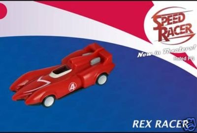 McDonalds Speed Racer Rex Racer's Mach 4 2008 Toy #4 - 1