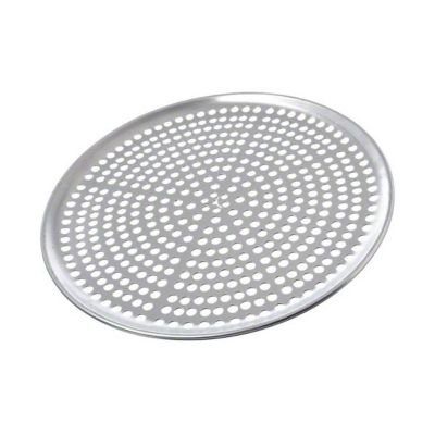 Browne Foodservice 575352 Thermalloy Aluminum Perforated Pizza Pan, 12-Inch