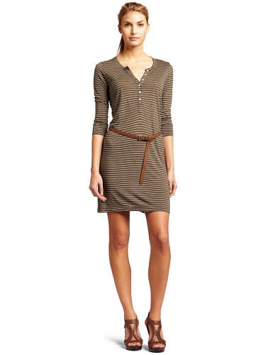 Joie Womens January Striped dress