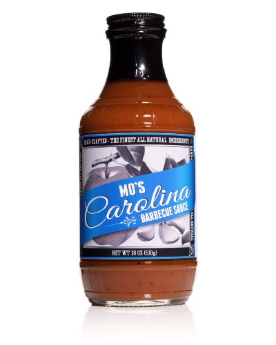 Mo'S Carolina Barbecue Sauce, Handcrafted, All Natural, Gluten-Free, No Hfcs