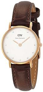 Daniel Wellington Damen-Armbanduhr XS Classy Cardiff Analog Quarz Leder 0904DW