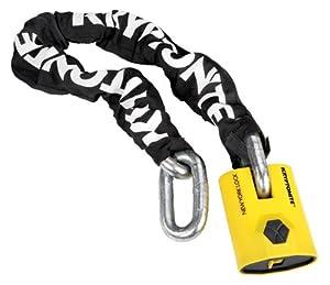 Kryptonite New York Legend 1590 Chain Bicycle Lock with New York Padlock Chain Bicycle Lock (3 Foot Long Chain)