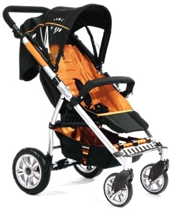 gesslein buggy comfort f4 orange schwarz test sportwagen test. Black Bedroom Furniture Sets. Home Design Ideas