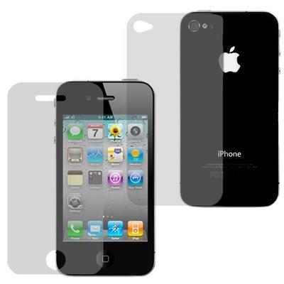 Pellicola Protettiva Invisibile - Per Apple iPhone 4 / 4G & iPhone 4S / 4GS (1x Pellicole Frontali 1x dietro) awolkin