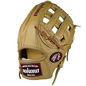 Nokona 11.75 American Legend AL-1175 H Web Baseball Glove (Right Handed Throw)
