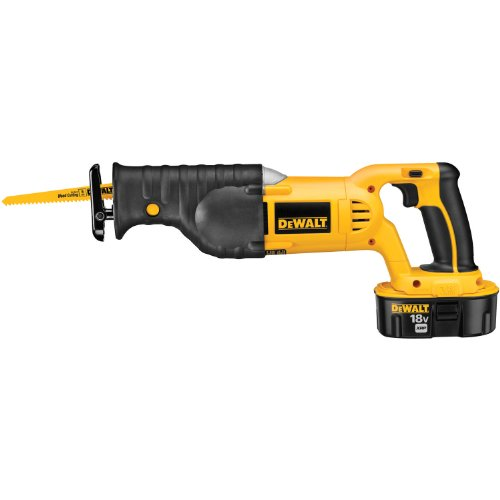 DEWALT DC385K 18-Volt NI-CAD wireless reciprocating saw Kit