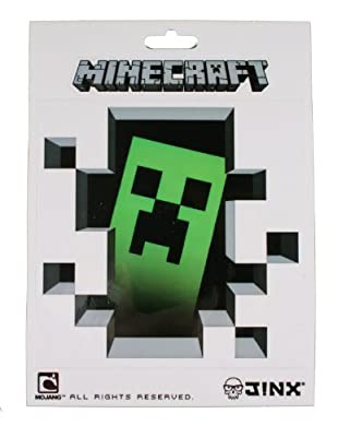 Minecraft Creeper Inside 5 X 5 Sticker by Minecraft