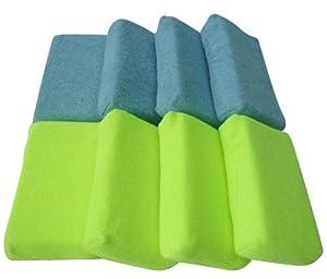 Zwipes 744 Microfiber Kitchen Sponge - Pack of 8