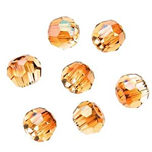 Swarovski Crystal, #5000 Round Beads 2mm, 20 Pieces, Crystal Copper
