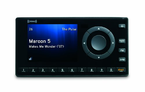 XM XDNX1V1 Onyx Dock-and-Play Radio with Car Kit (Black)
