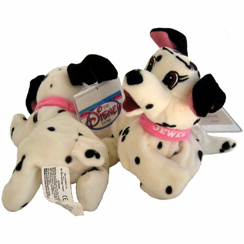 101 Dalmatians Jewel - Disney Mini Bean Bag Plush - 1