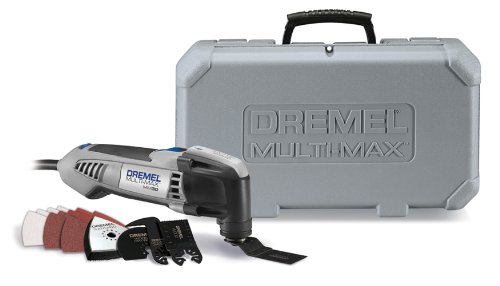 Dremel MM30-01 2.5-Amp Multi-Max Oscillating Tool Kit with 15 Accessories