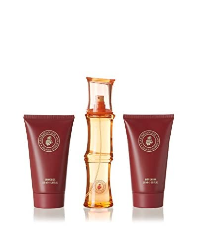 Caribbean Joe Set Eau de Toilette Mujer 3 Piezas (Edt 100 ml + Body Lotion 150 ml + Gel 150 ml)