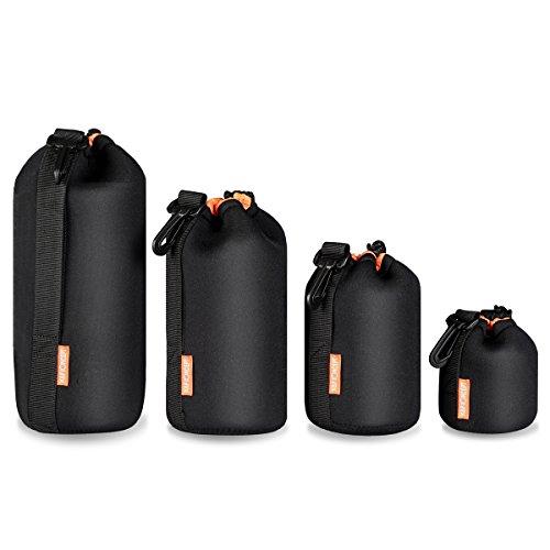 lens-pouchkf-conceptr-4pcs-black-lens-pouch-bag-soft-lens-protector-neoprene-lens-pouches-for-cannon