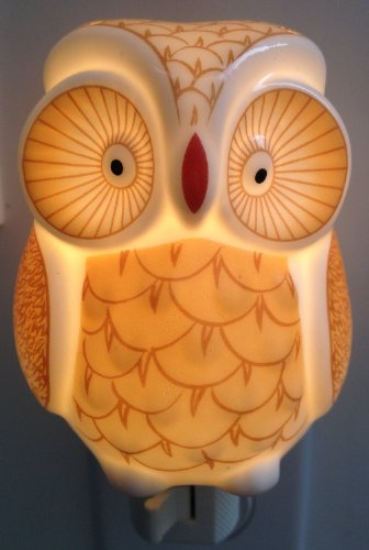 Porcelain Night Light(Owl)