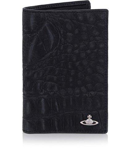 Vivienne Westwood Man Uomo Portafoglio in pelle Amazon Card Nero Unica Taglia