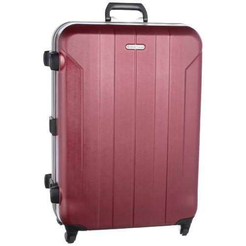 [ワールドトラベラー] World Traveler フェルミオン スーツケース 68cm・82リットル・5.1kg・日本製 04222 10 (クランベリーレッド)