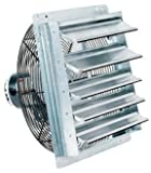 "FanTech 2SHE20B1W 20"" Shutter Mounted Exhaust Fan"