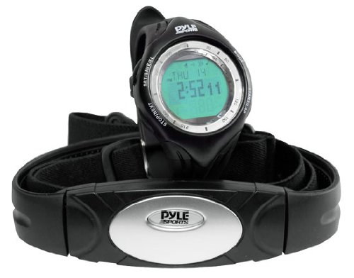 Cheap GSI Super Quality All-In-One Heart Rate Monitor Watch and Transmitter Chest Belt – For Exercise, Sports, Running, Jogging and All Outdoor Activities – Data, Stopwatch, Chronograph and Alarm Functions (GK953C)