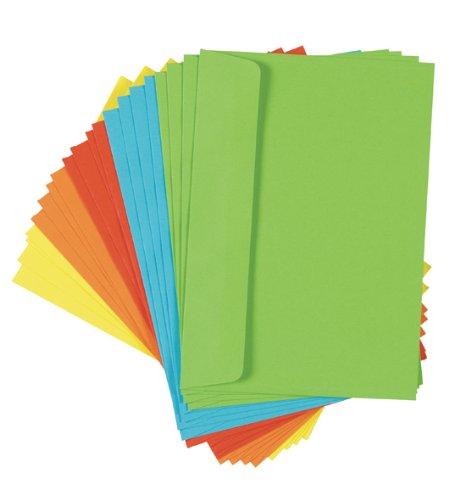 Briefumschläge, farbig, C 6, 20 Stück Picture
