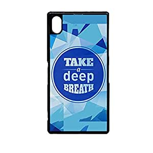 Vibhar printed case back cover for Sony Xperia Z2 Deep