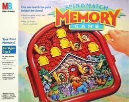Spin & Match Memory Game - 1