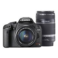 Canon デジタル一眼レフカメラ Kiss X3 ダブルズームキット KISSX3-WKIT