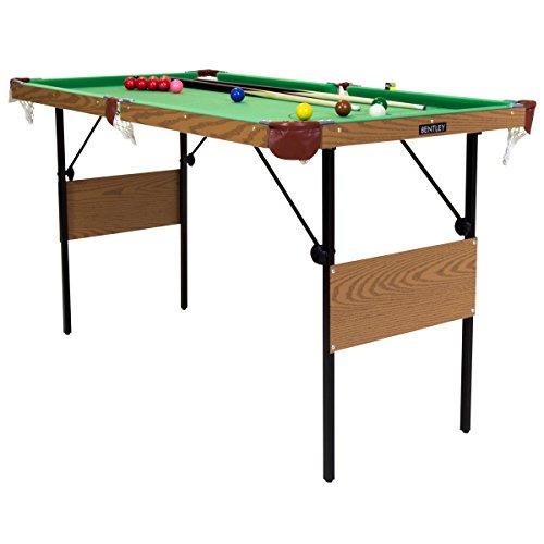 Snooker-Billardtisch - Snookerkugeln & gelbe Poolbillard-Kugeln - 1,39 m