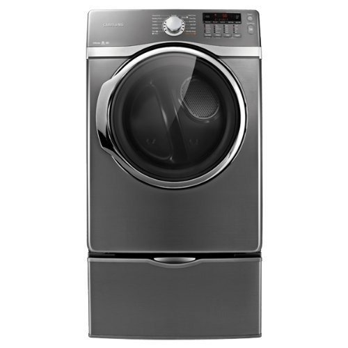Samsung DV405ETPASU 7.4 Cu. Ft. Stainless Steel Stackable With Steam Cycle Electric Front Load Dryer