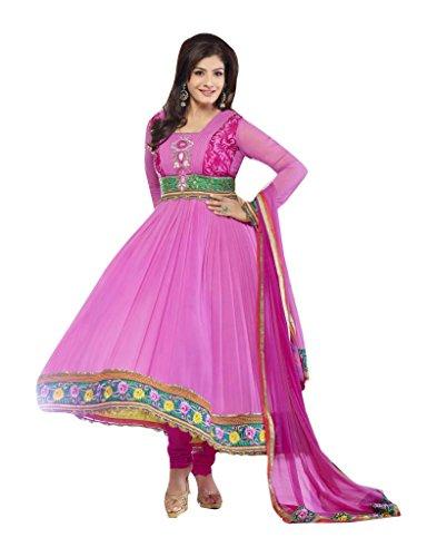Mayloz - Pure Georgette Embroidered Salwar kameez Shalwar Kamiz M56-9104