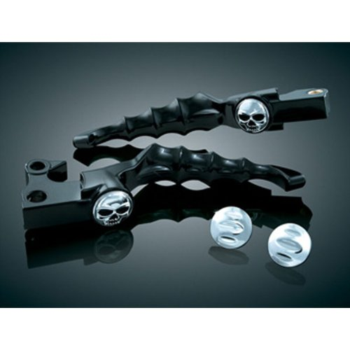 Kuryakyn Zombie Levers for H-D 1996-2012 models with Cable Operated Clutch (exc