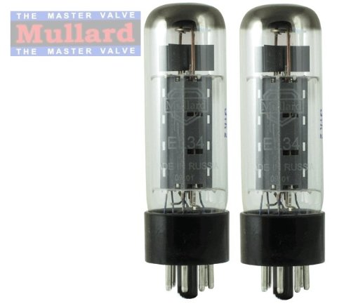 Mullard Reissue EL34 Power Vacuum Tube, Matched Pair