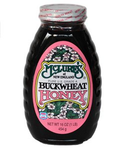McLure's Pure Buckwheat Honey, 1 LB